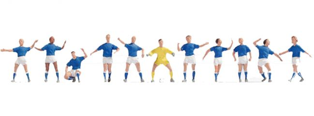 NOCH 15975 Fußballteam Italien   Figuren Spur H0