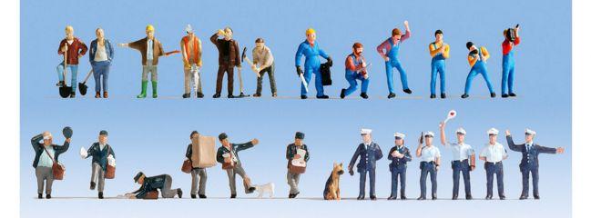 NOCH 16109 Figuren-XL-Set Bei der Arbeit 24 Stück Spur H0