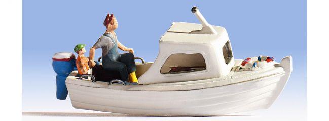 NOCH 16822 Fischerboot mit Figuren Spur H0