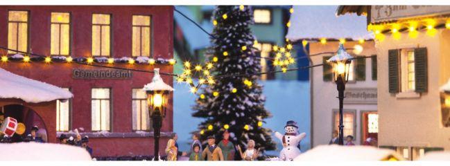 NOCH 51202 Lichterkette und Weihnachtsstern Spur H0
