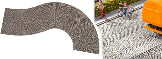 NOCH 60316 Struktur-Kurve Kopfsteinpflaster ca.32cm 1:87