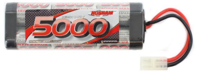 NOSRAM 99295 Akku Hyper Pack 5000 mAh | 7,2 Volt | Stickpack | TAMIYA-Stecker online kaufen