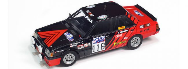 NUNU-BEEMAX B24022 Mitsubishi Lancer Turbo '84 RAC Rallye | Auto Bausatz 1:24