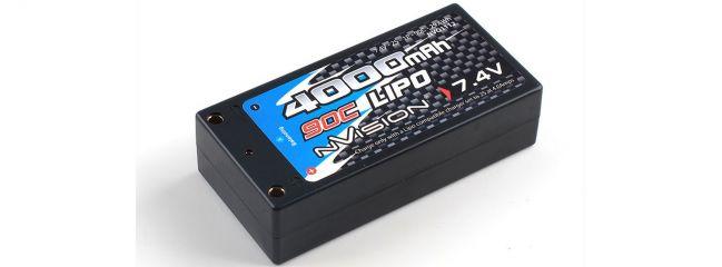 nVision NVO1112 Factory Pro Lipo-Akku | 2S | 7,4 Volt | 4000 mAh | 90C