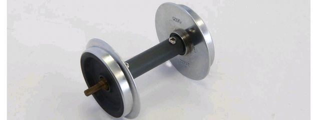 PIKO 36167 G-Metallradsatz kugelgelagert 30 mm für Wagen | 2 Stück