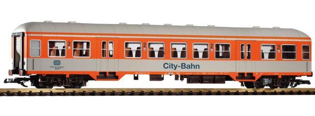 ausverkauft | PIKO 37622 Nahverkehrswagen 2. Klasse Bnrzb 778.1 City Bahn DB Spur G