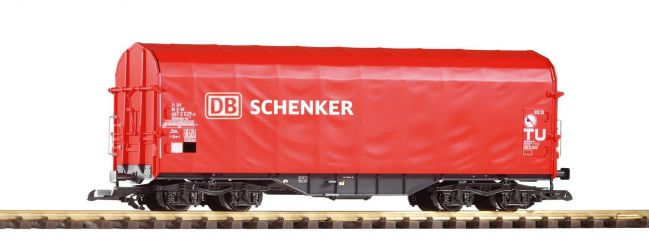 PIKO 37717 Schiebeplanwagen Shimmns-tu 718 DB AG Spur G