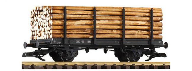 PIKO 37781 Rungenwagen mit Holzladung DB  Güterwagen Spur G