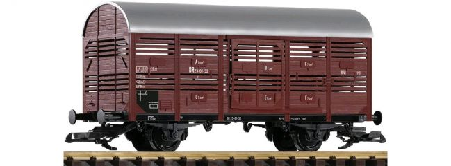 ausverkauft | PIKO 37955 Viehtransportwagen DR | Spur G