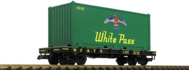 PIKO 38709 Containertragwagen WP/YR | Spur G