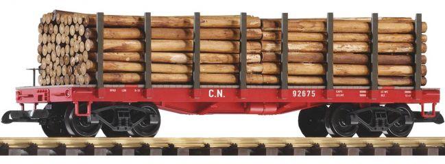 PIKO 38713 Rungenwagen mit Holzladung CN | Spur G
