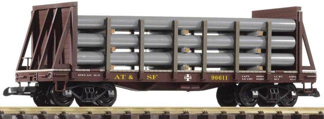 PIKO 38738 Rungenwagen mit Rohrladung | SF | Spur G