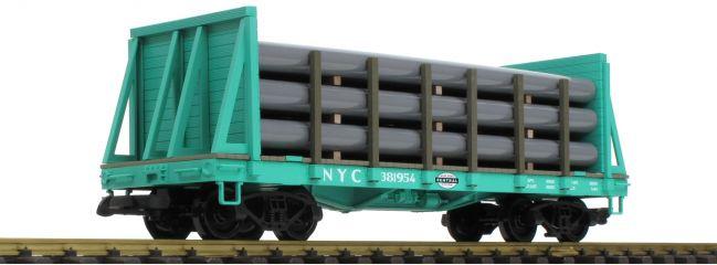 PIKO 38739 Rungenwagen mit Rohrladung | NYC | Spur G