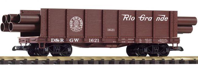 PIKO 38749 Hochbordwagen D&RGW mit Ladung | Spur G