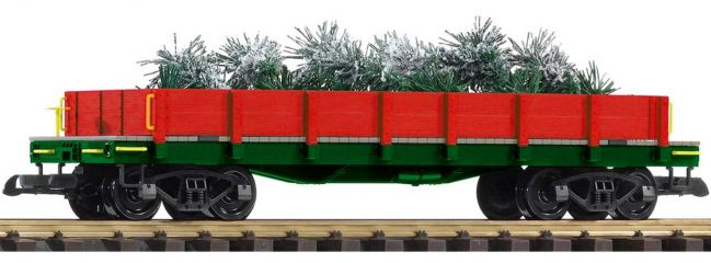 PIKO 38762 Niederbordwagen Christmas Tree Express | Spur G