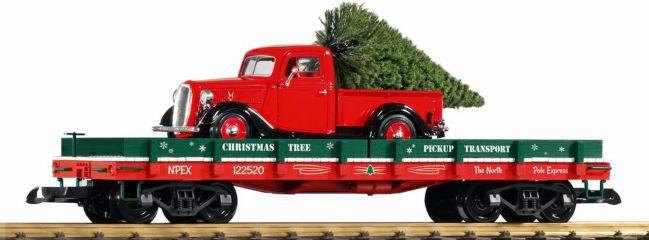 PIKO 38768 Autotransportwagen mit Chevy Pickup | Spur G
