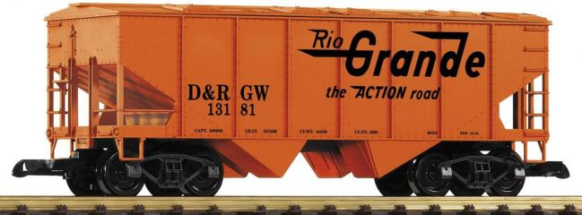 PIKO 38869 Geschlossener Schüttgutwagen   DRGW   Spur G