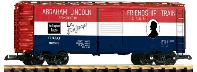 PIKO 38885 Geschlossener Güterwagen CB&Q Friendship Train   Spur G