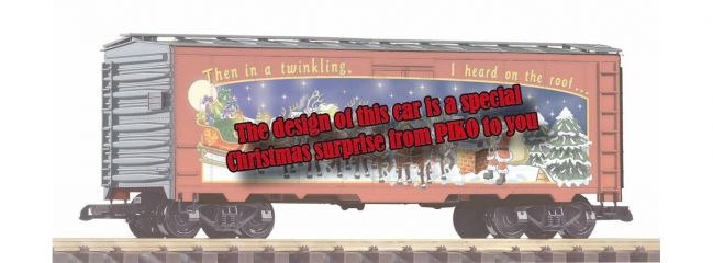 PIKO 38894 Weihnachtswagen 2019 | Spur G
