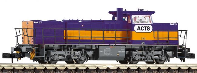 PIKO 40407 Diesellok G 1206 der ACTS lila Spur N