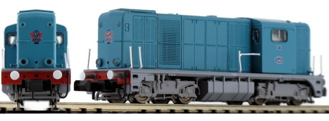 PIKO 40420 Diesellok Rh 2400 blau NS | DC analog | Spur N