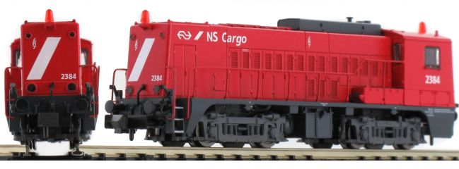 PIKO 40441 Diesellok NS 2384 der NS cargo rot Spur N