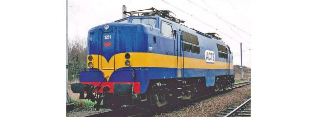 PIKO 40464 E-Lok Rh 1200 ACTS V blau   DC Analog   Spur N
