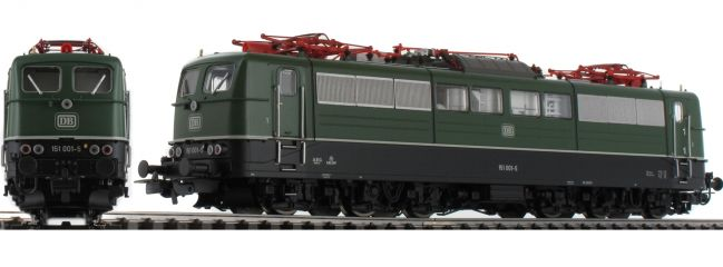 PIKO 51300 Elektrolok BR 151 DB grün   Spur H0