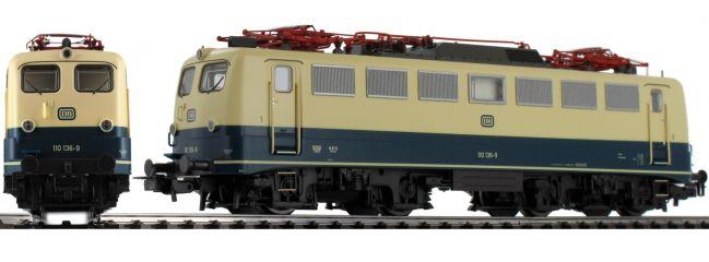 PIKO 51736 Elektrolok BR 110 blau beige | DB | DC analog | Spur H0
