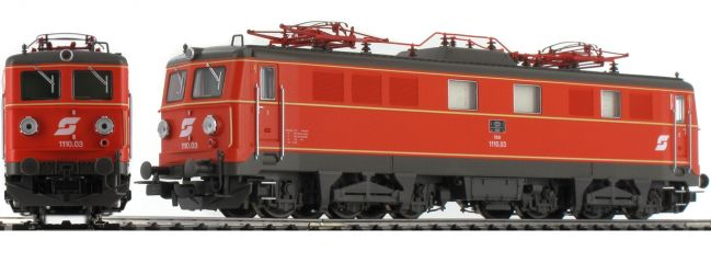 PIKO 51766 E-Lok Rh 1110 blutorange | ÖBB | DC analog | Spur H0