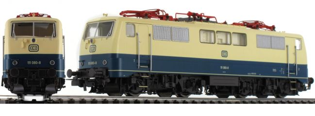 PIKO 51847 Elektrolok BR 111 DB ozeanblau-beige   digital   AC   Spur H0
