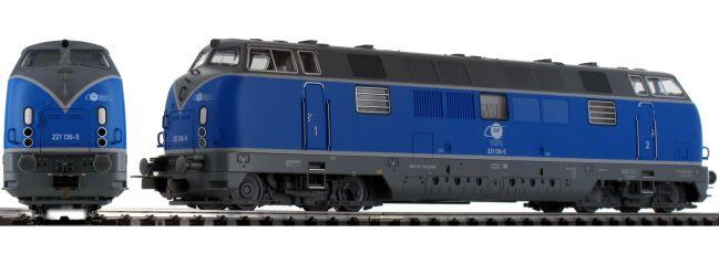 PIKO 52613 Diesellok BR 221 EGP | AC digital | Spur H0