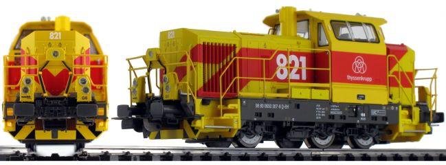 PIKO 52664 Diesellok Vossloh G6 MTU thyssenkrupp   DC analog   Spur H0