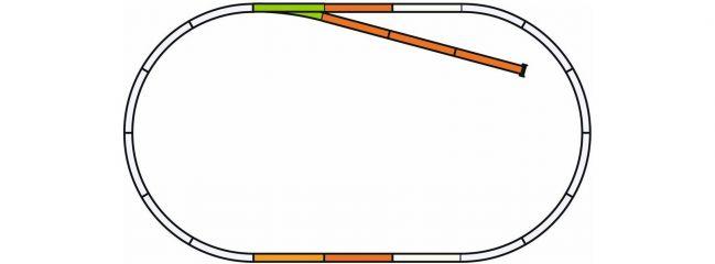 PIKO 55311 Gleis Set B | A-Gleis Spur H0