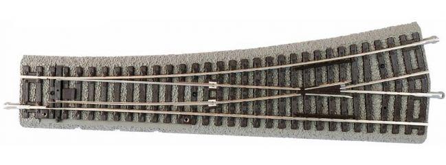 PIKO 55422 Bogenweiche BWL links mit Bettung   A-Gleis Spur H0