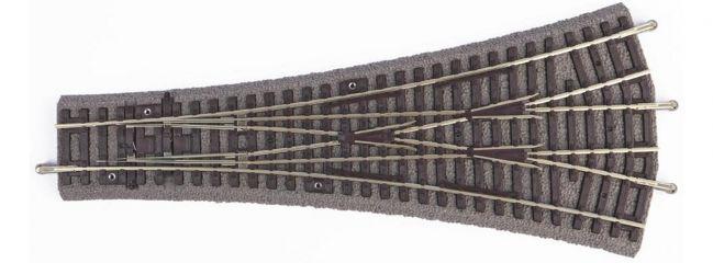 PIKO 55425 3-Wege Weiche W3 mit Bettung | 1 Stück | A-Gleis Spur H0