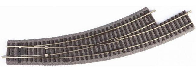 PIKO 55427 Bogenweiche, links BWL-R3 mit Bettung | 1 Stück | A-Gleis Spur H0