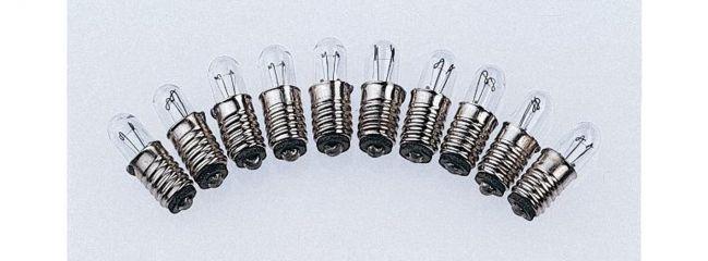 PIKO 55758 Ersatzglühbirnen 19 V | 10 Stück | Spur H0