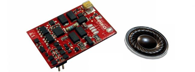 PIKO 56452 SmartDecoder 4.1 Sound mit Lautsprecher BR E07/ET41 | Spur H0