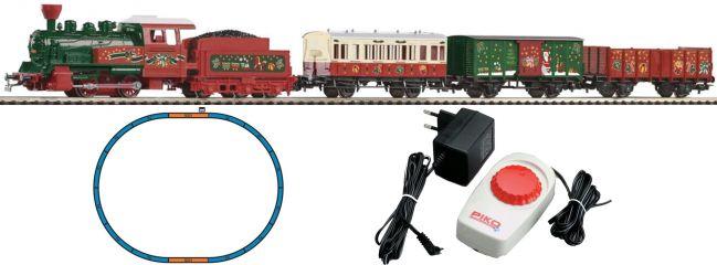 ausverkauft    PIKO 57080 Weihnachts Start-Set Dampflok mit Tender   Spur H0