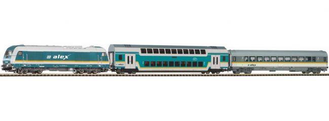 PIKO 57137 Start-Set Diesellok BR 223 Personenzug ALEX | DC analog | Spur H0