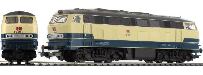 PIKO 57317 Diesellok BR 218 blau/beige | AC | Spur H0