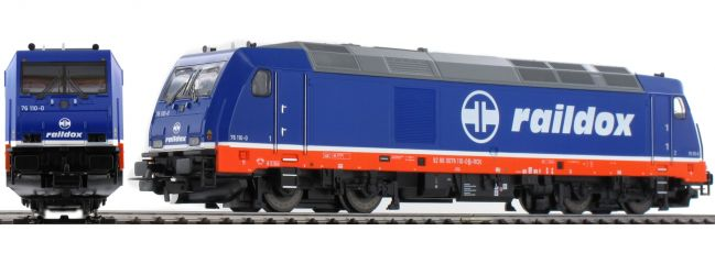 PIKO 57341 Diesellok BR 285 Raildox TRAXX | Raildox | AC digital | Spur H0