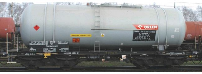 PIKO 58451 Kesselwagen Zas (406R) Orlen PKP | DC | Spur H0