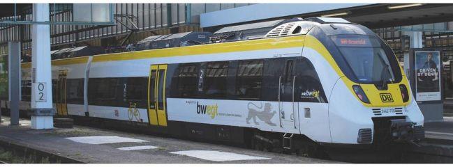 PIKO 59511 E-Triebwagen BR442 BW 4-tlg DB VI | DC analog | Spur H0
