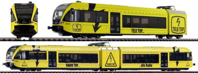 PIKO 59539 E-Triebwagen GTW 2/6 | SBB Teletop | DC analog | Spur H0
