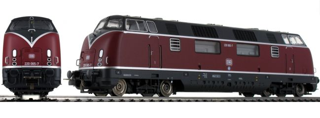 PIKO 59706 Diesellok BR 220 große Klappe DB | DC analog | Spur H0