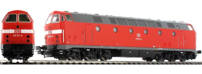PIKO 59933 Diesellok 219 DB AG | DC analog | Spur H0