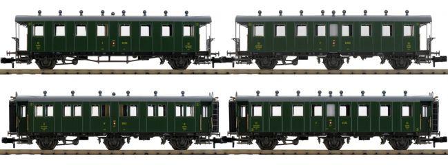 PIKO 94343 Personenwagen-Set 4-tlg. 2./3.Kl. SBB   Spur N
