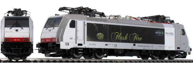 PIKO 97721 E-Lok BR 186 Flash Fire SBB Railpool | AC-Digital | Spur H0